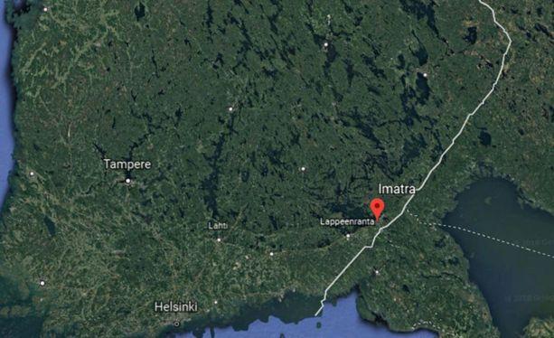 Villikoiralauma on havaittu Itä-Suomessa Imatralla.