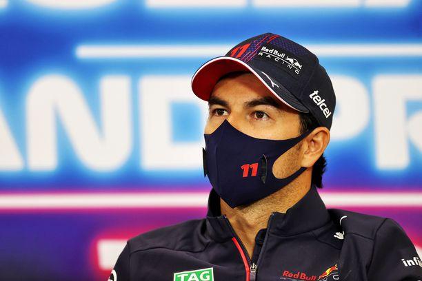 Sergio Perez päsi tänä vuonna huipputalliin.