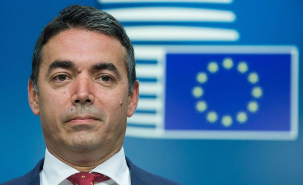 Makedonian ulkoministeri Nikola Dimitrov