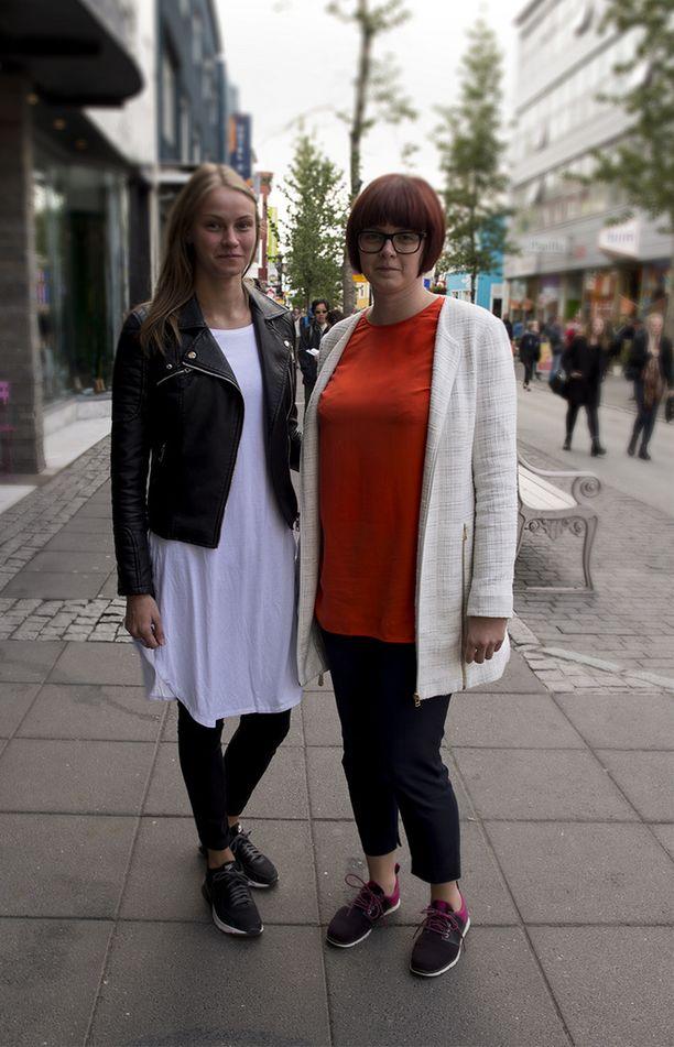 Kerrospukeutuminen ja käytännölliset kengät ovat islantilaisille fiksuja valintoja.