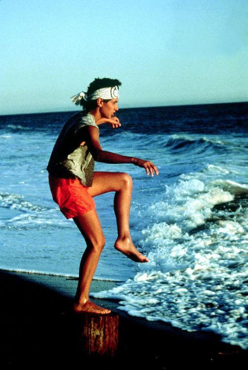 Ralph Macchio näytteli Karate Kid-elokuvassa pääroolia vuonna 1984. Juuri kurkipotku auttoi miestä selviämään viimeisestä ottelusta.