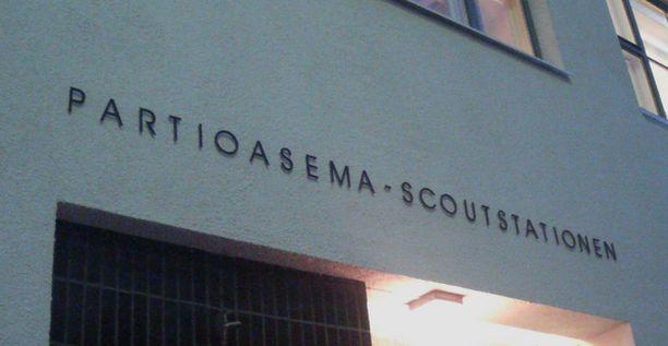 UUSI ASEMA Partioasema vihittiin tiistaina virallisesti käyttöön.