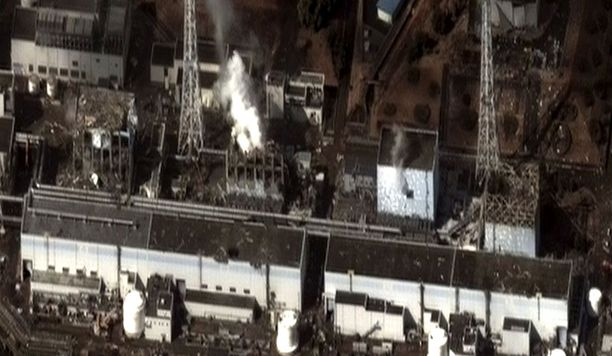 Fukushiman voimaloista keskiviikkona julkaistussa kuvassa näkyy reaktoreiden 1, 3 ja 4 huono kunto. 2 reaktorin ulkokuori on vielä kuvassa ehjän näköinen.