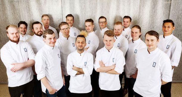 Vuoden kokki -semifinalistien veitset on teroitettu ja he ovat valmiina kisaan.