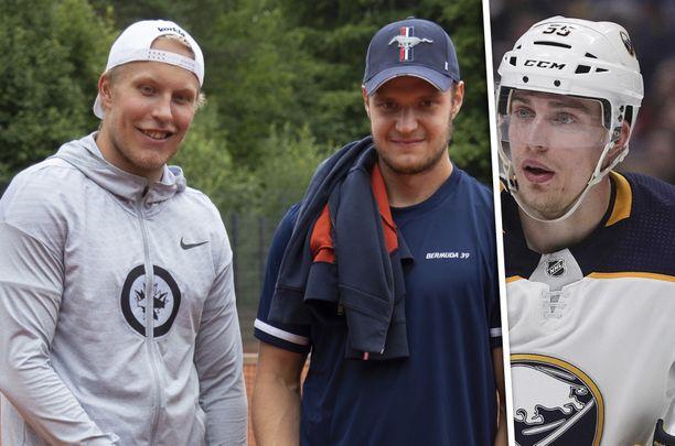 Sekä Aleksander Barkov (keskellä) että Rasmus Ristolainen (oikealla) ovat saaneet tuntuvat päiväsakot ylinopeudesta.