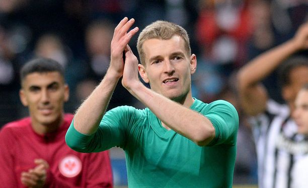 Lukas Hradecky pelasi nollapelin.