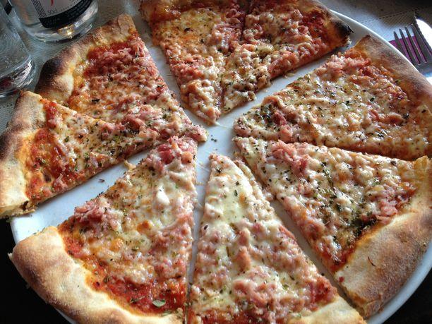 Mies otettiin kiinni pizzeriasta häiriköimästä. Kuvituskuva.