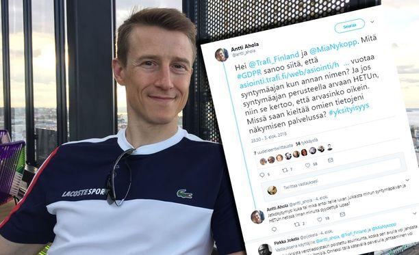 Tamperelainen ohjelmistoyrittäjä huomasi Trafin palvelun ongelman jo elokuussa ja kertoi havainnostaan Twitterissä.