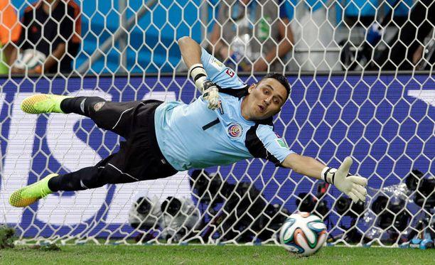 Navas johti torjunnoillaan Costa Rican sensaatiomaisesti MM-puolivälieriin.