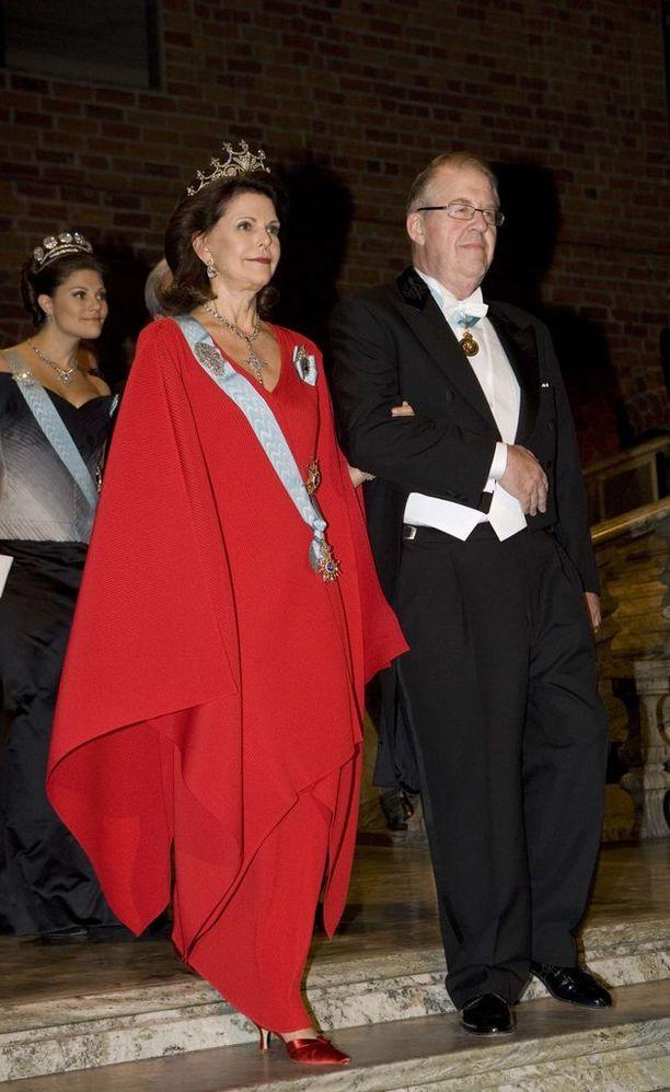 Kuningatar Silvain tyylinäyte vuodelta 2007.