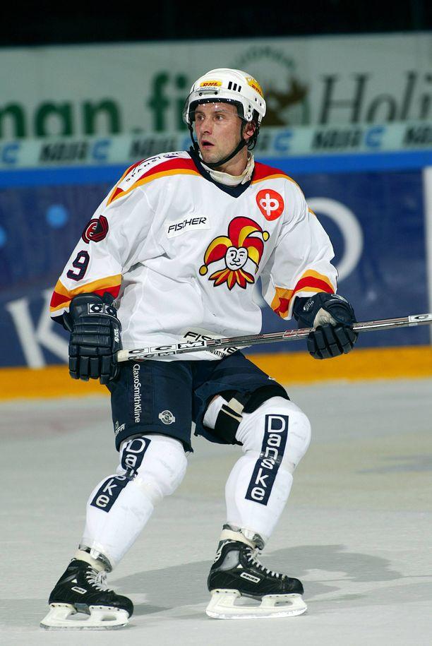 Tony Virta edusti Jokereita jo pelaajana.