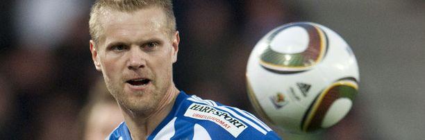 Juho Mäkelä jahtaa jo kauden 11. maaliaan.