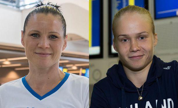 Mira Potkonen ja Petra Olli ovat mitalitoivoja luultavasti Tokion olympialaisissa neljän vuoden kuluttua.