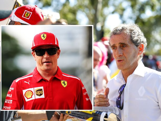 Alain Prostilla on Kimi-niminen lapsenlapsi.