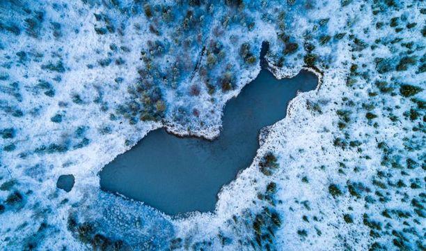 Neitokainen-tekolampi sijaitsee Kittilässä.