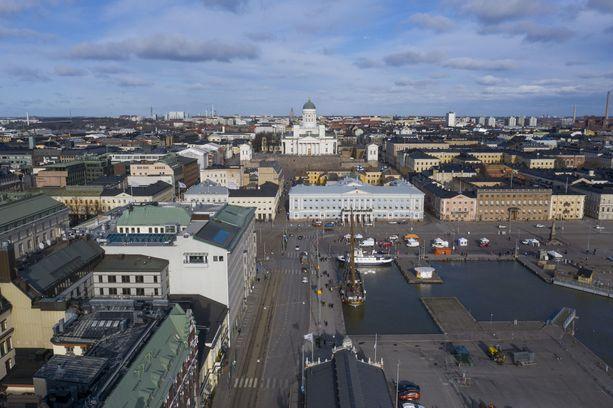 Kiesin mukaan rottahavaintoja tulee laajasti eri puolilta Helsinkiä.