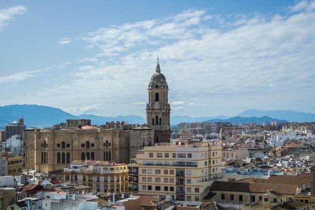 Málagan katedraali rakennettiin maurilaisvallan aikaisen moskeijan tilalle.
