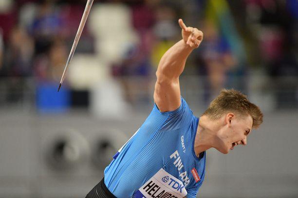 Oliver Helander ylitti 80 metriä karsinnassa, mutta ei yltänyt finaaliin.