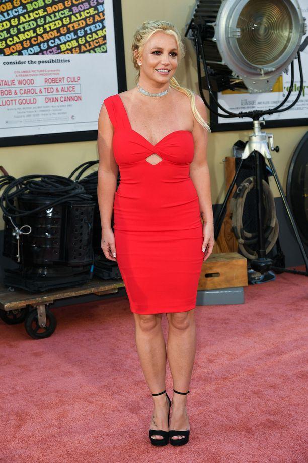 Britney Spears kuvattuna viime kesänä.