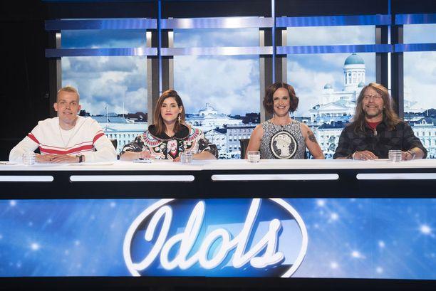 Tämä nelikko tuomaroi tulevalla Idols-kaudella, joka on jo järjestyksessään yhdeksäs.