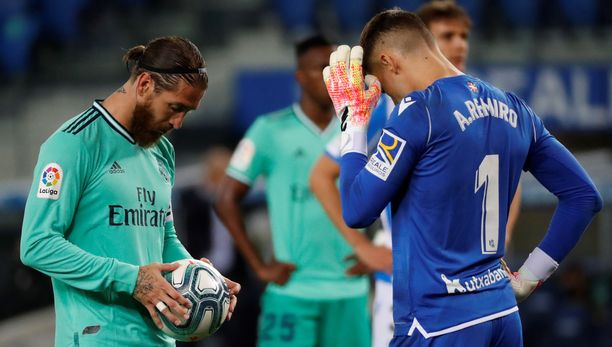 Sergio Ramosista tuli sunnuntaina La Ligan kautta aikain tehokkain puolustaja. Real Madridin kapteeni pussitti pilkulta uran 68:nnen täysosuman.