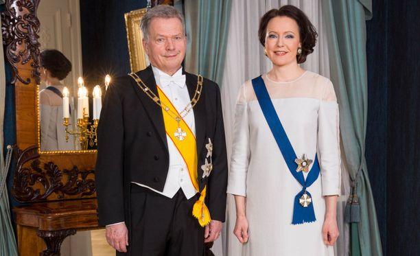 Presidentti Sauli Niinistö ja rouva Jenni Haukio kertoivat Aaro-pojastaan Ylen haastattelussa.