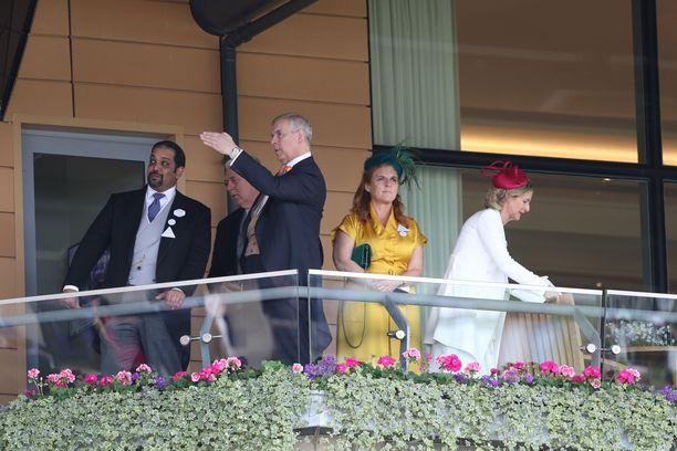 Prinssi Andrew pitää laukkakilpailuista. Myös ex-vaimo on kiinnostunut Ascotista ja sen oheistapahtumista.