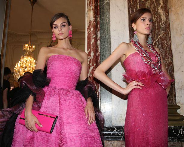 Asiantuntijoiden mukaan haute couture -huippumuotiluomuksia saattaa näkyä Linnan juhlissa useitakin, mutta niistä ei aina kohista. Kuvituskuva.