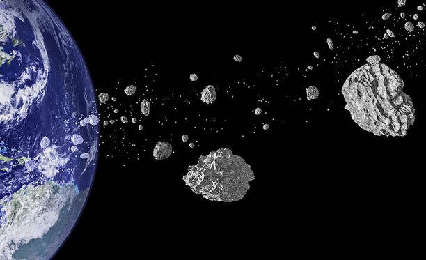 Stephen Hawkingin mukaan asteroidin törmääminen planeettaan on yksi suurimmista vaaroista elämälle.