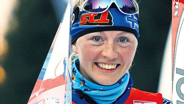 Virpi Kuitunen jää historian kirjoihin Tour de Skin ensimmäisenä voittajana.