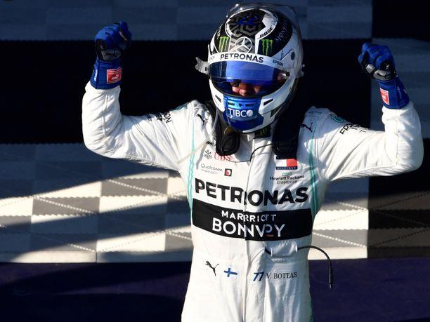 Valtteri Bottas nappasi kauden 2019  alkajaisiksi neljännen GP-voittonsa.