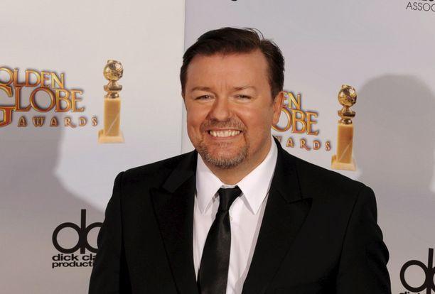 Brittikoomikko ja näyttelijä Ricky Gervais nousi maailmanmaineeseen roolistaan televisiosarja Konttorissa, jossa hän esitti tilannetajutonta ja omiaan möläyttelevää toimiston pomoa.