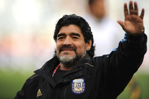 Diego Maradona menehtyi 60-vuotiaana.