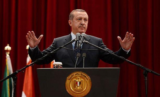 Turkin pääministeri Tayyip Erdogan moitti ankarasti Israelin toimia Gazassa. Valtiot olivat ennen liittolaisia.