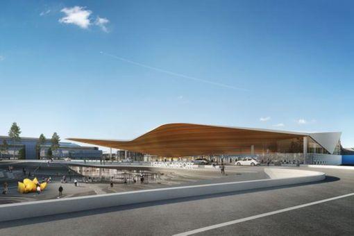 Tässä se on, Helsinki-Vantaan lentoaseman uusi maamerkki!