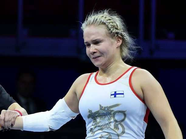 Petra Olli kirkasti kolmen vuoden takaisen MM-hopeansa keskiviikkona Budapestissä.