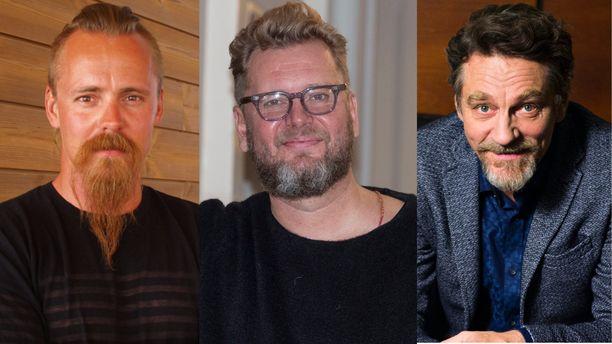 Jasper Pääkkönen (vas.) tähdittää Ville Virtasen (oik.) kanssa Antti J. Jokisen uutta elokuvakokonaisuutta.