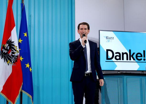 Sebastian Kurzista tulee maailman nuorin johtaja.