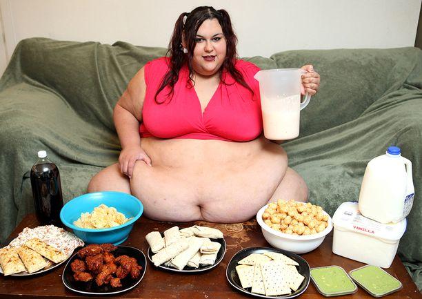 Päivittäinen kilokaloriannos on noin 8 000.