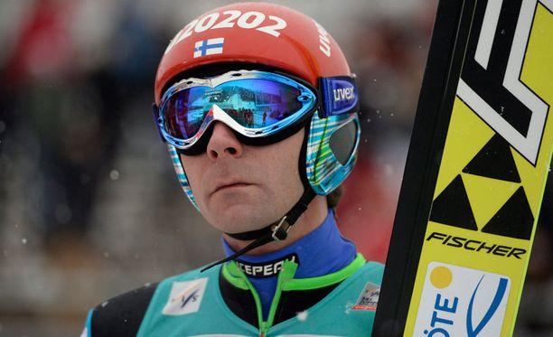 Janne Ahosen ilme Engelbergissä pysyi peruslukemilla kelpo hypystä huolimatta.