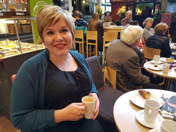 Annika Saarikon perheeseen syntyi toinen lapsi.