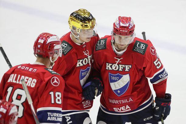 HIFK:n kotiottelut siirretään kolmen viikon ajalta.