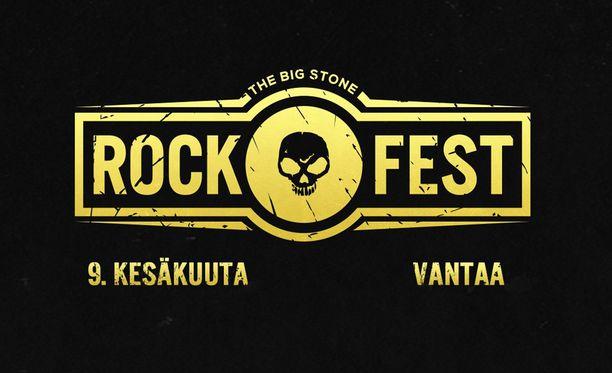 Rockfest valtaa Vantaan kesäkuussa.