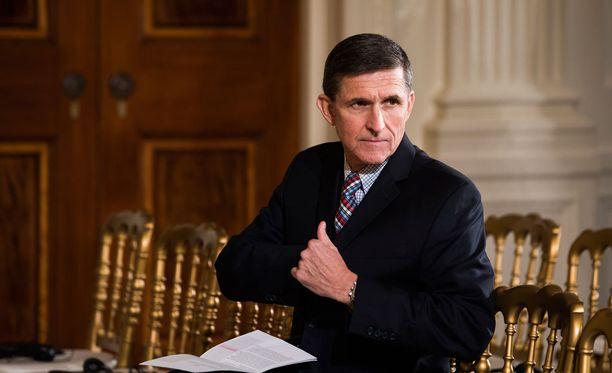 Michael Flynn joutui eroamaan virastaan presidentin neuvonantajana helmikuussa.