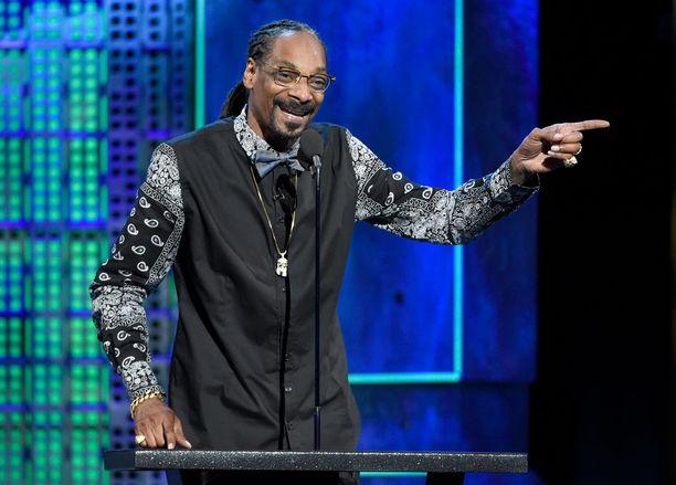 Snoop Dogg oli yksi roastaajista.
