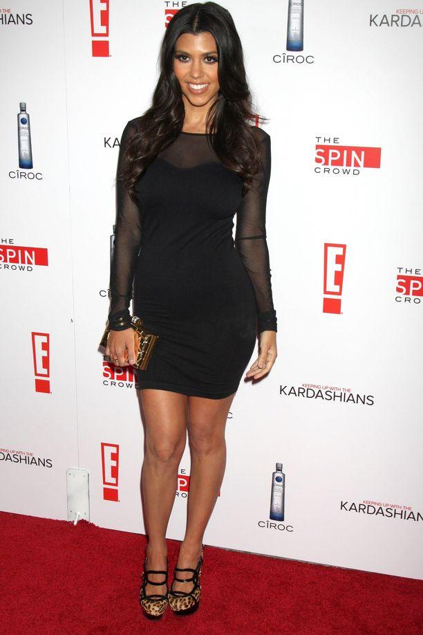 Kourtney Kardashian vuonna 2010.