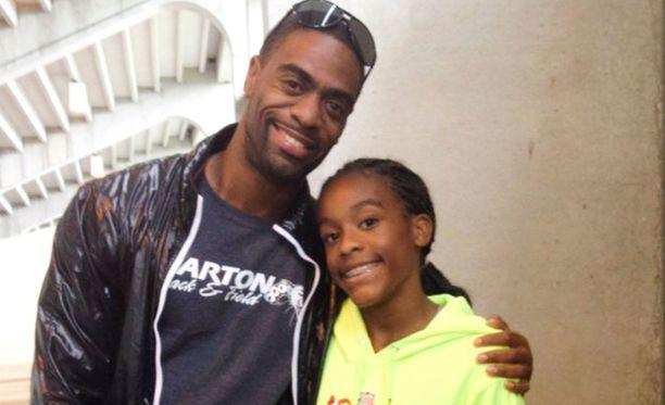 Tyson Gay menetti tyttärensä kaksi vuotta sitten ampumavälikohtauksessa.