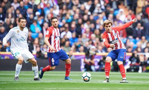 Alético Madrid nousi tappioasemasta pikavauhtia tasapeliin Antoine Griezmannin osumalla.