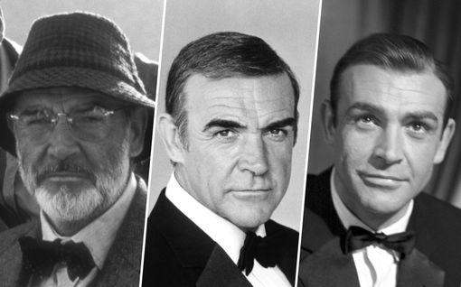 Sean Connery on kuollut