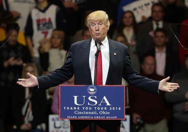 Donald Trumpin Trumin hallitus on ökyrikkaista koottu.
